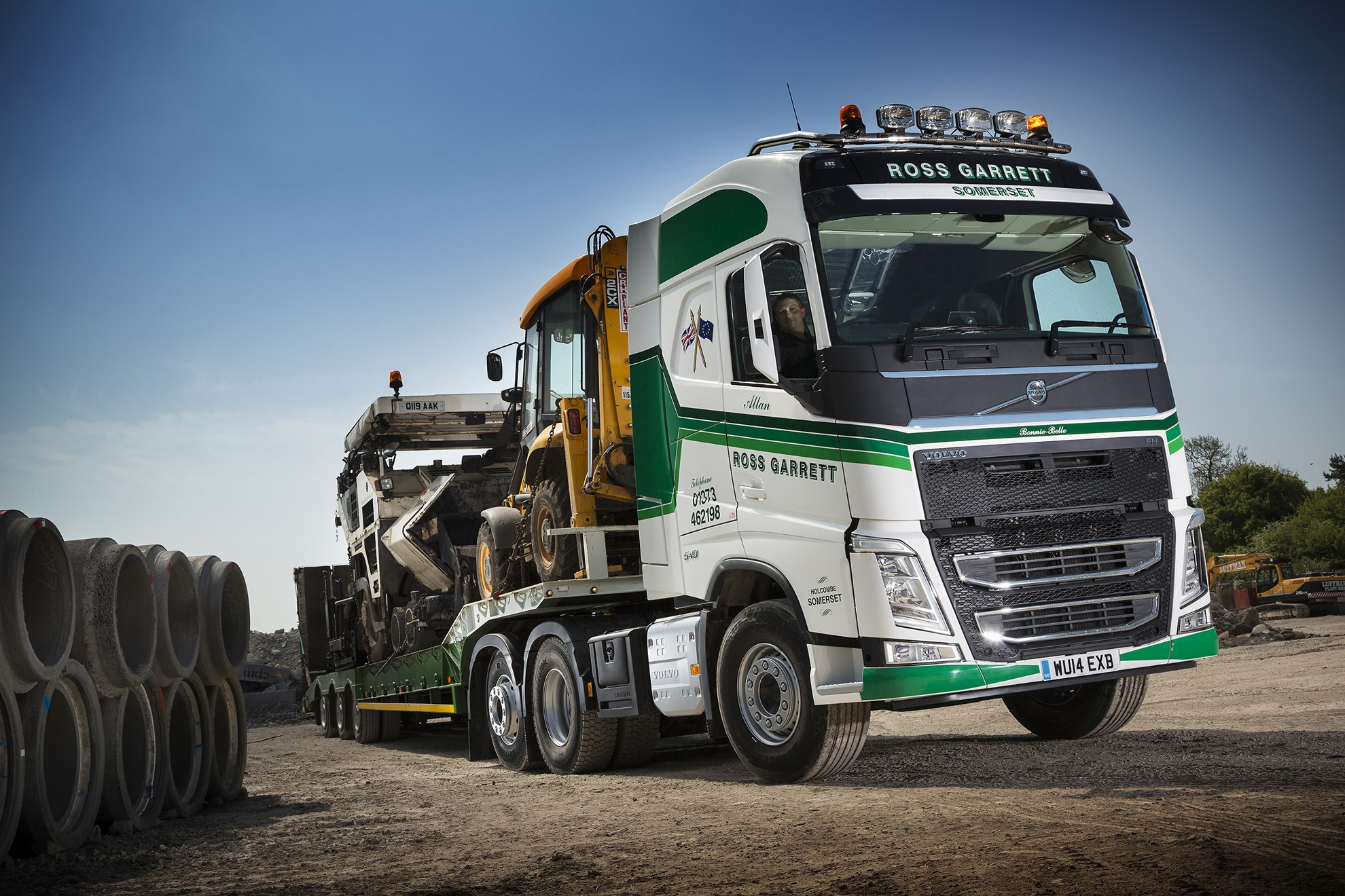 Country operator Ross Garrett has taken delivery of the first Volvo ...