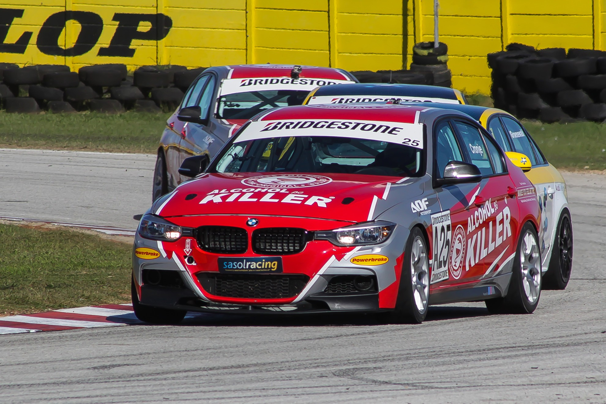 BMW Race Cars rule in East London thriller