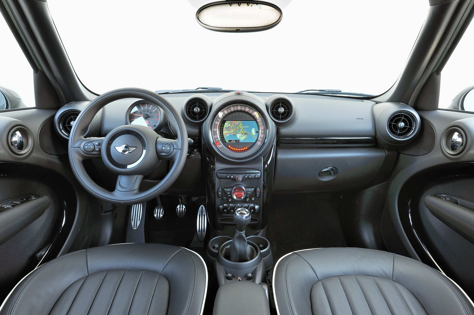 The new mini countryman - Countryman interior ...