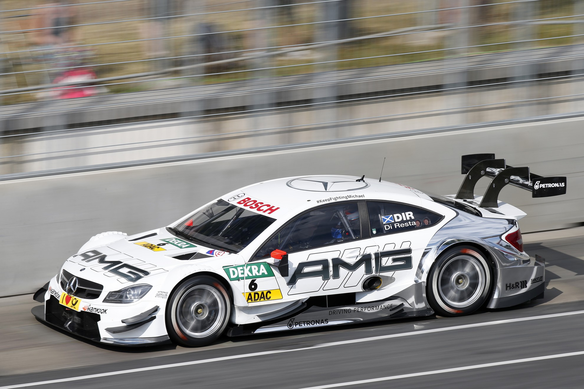 mercedes benz dtm race moscow
