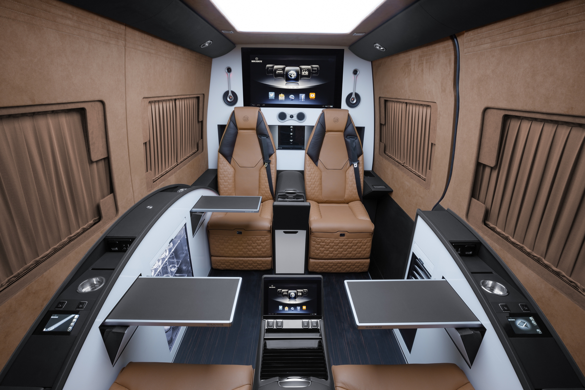 Moscow International Automobile Salon - Brabus Mercedes-Benz Sprinter Business Lounge