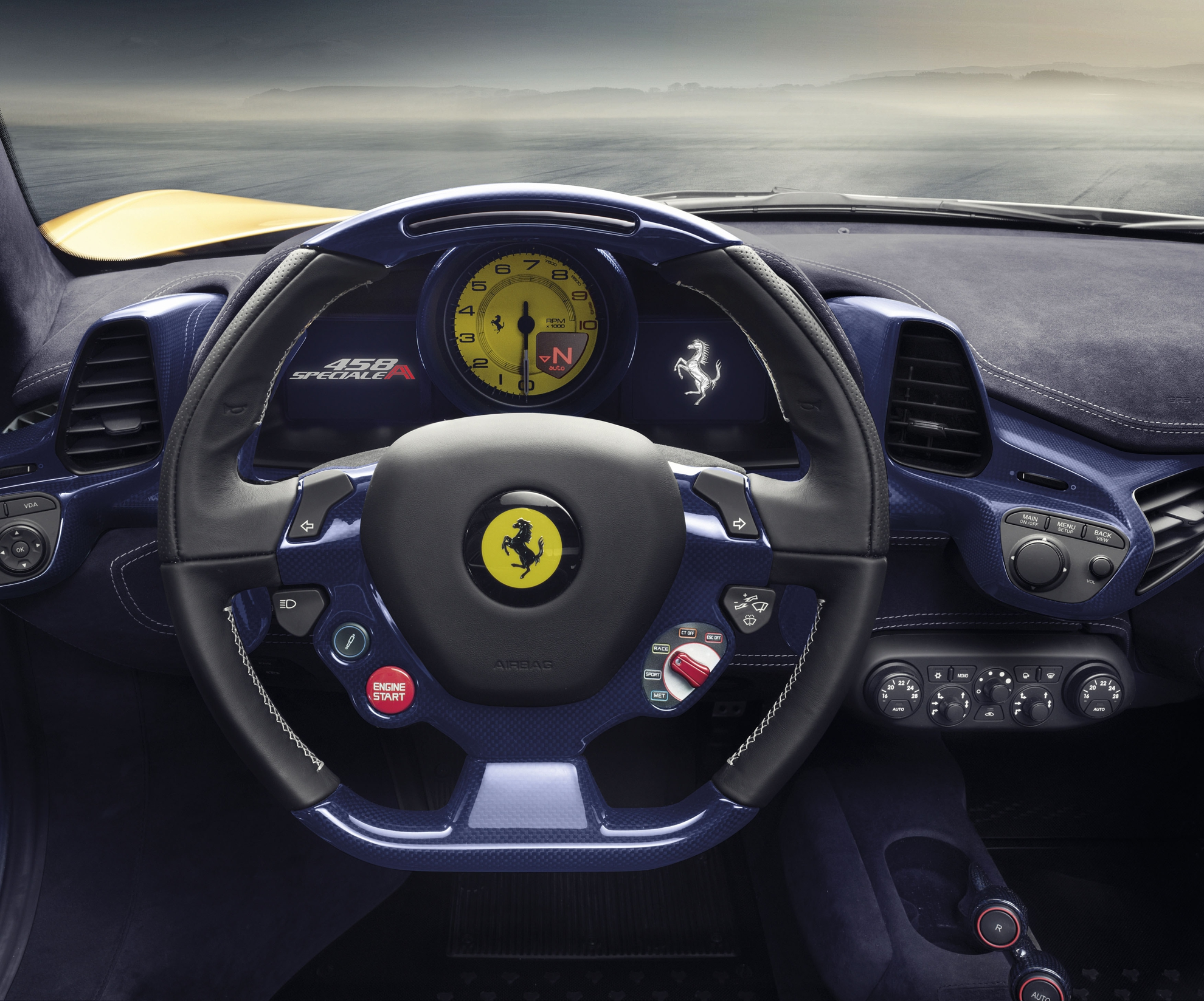 Ferrari-Dashboard