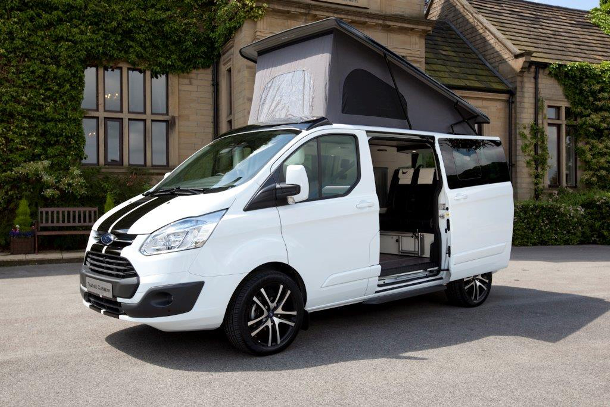 100th ford tourneo custom campervan sold. Black Bedroom Furniture Sets. Home Design Ideas