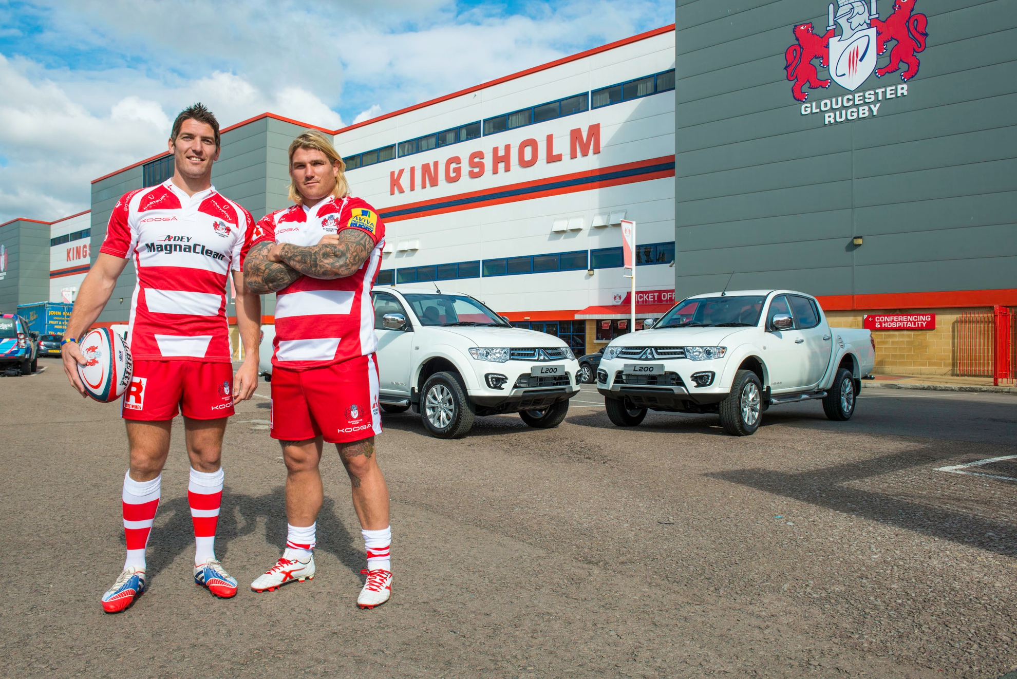 Gloucester Rugby Pair Find Mitsubishi L200 The Perfect Match