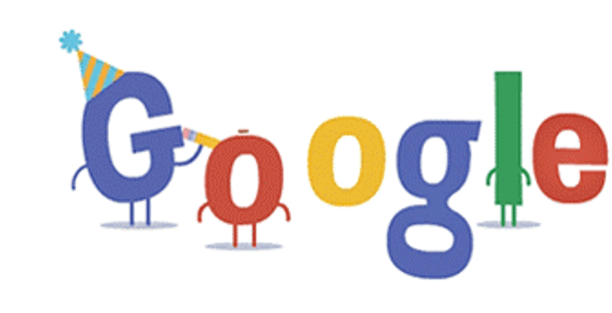Google 16th Birthday Google Doodle