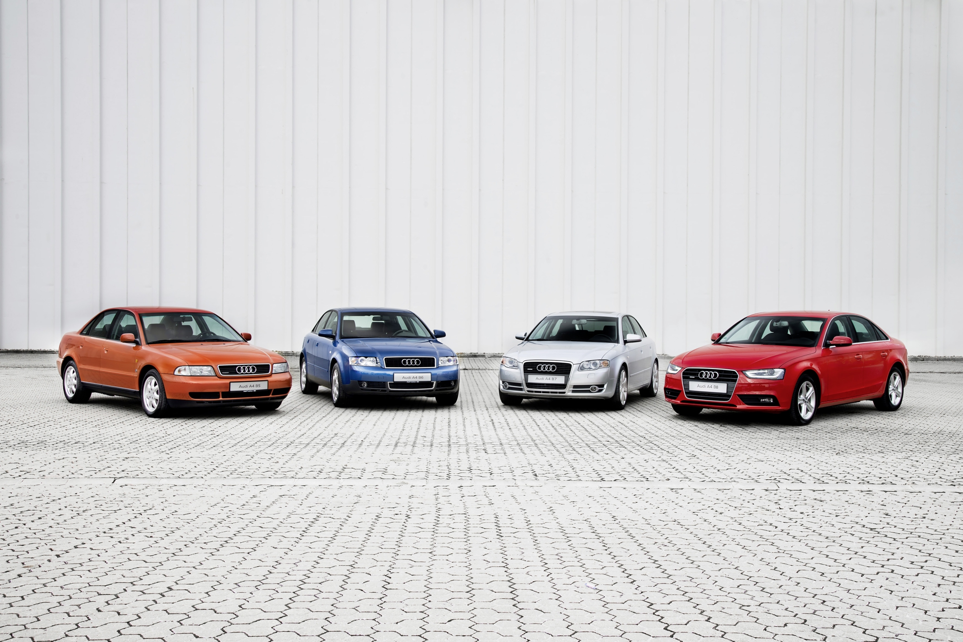 Production Jubilee 20 Years Of Audi A4 At Ingolstadt Plant
