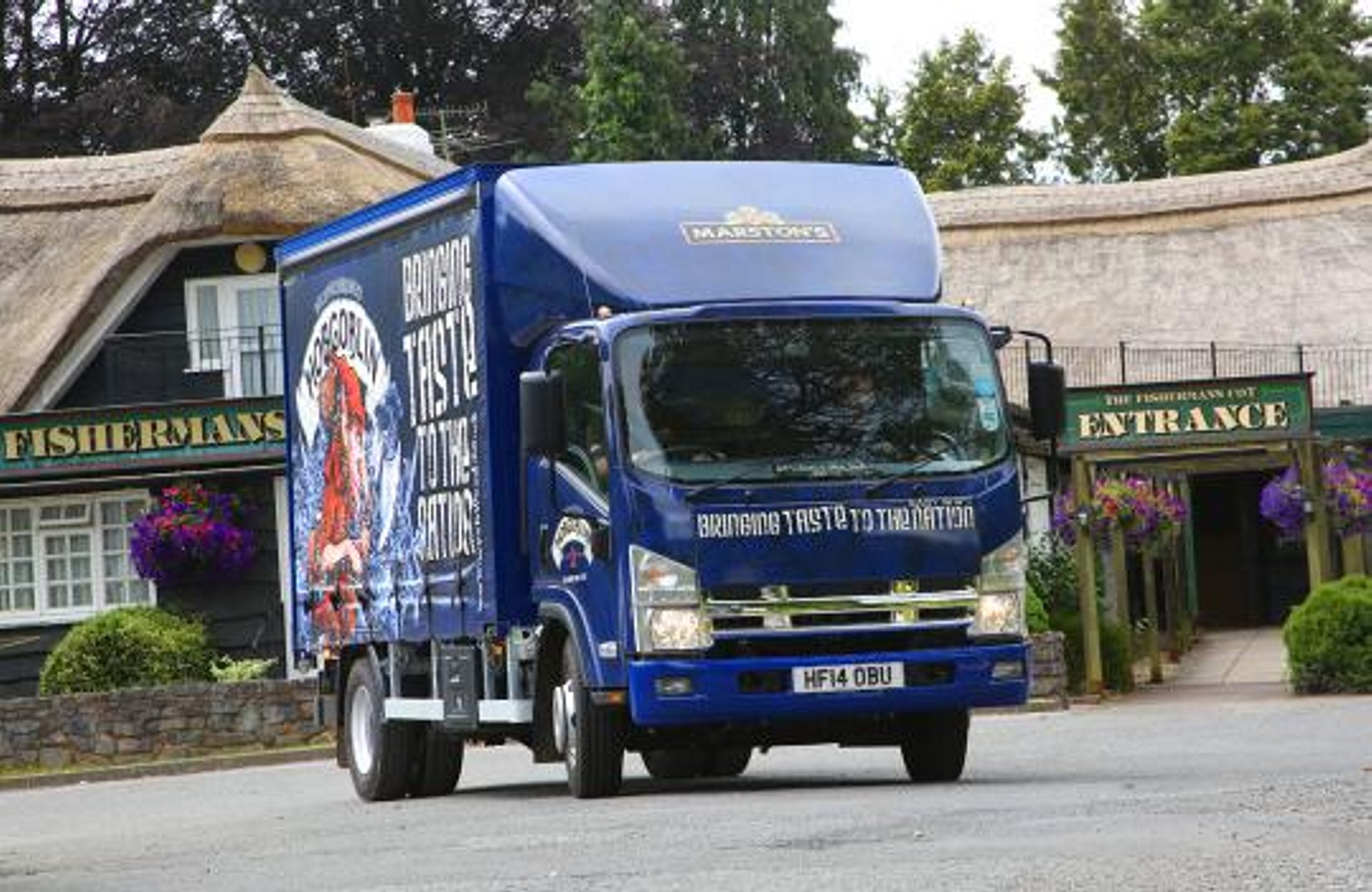 Based out of Marston's Exeter depot, the new Isuzu is turning heads everywhere. Not only is it a new vehicle, but it's also sporting an award-winning livery ...