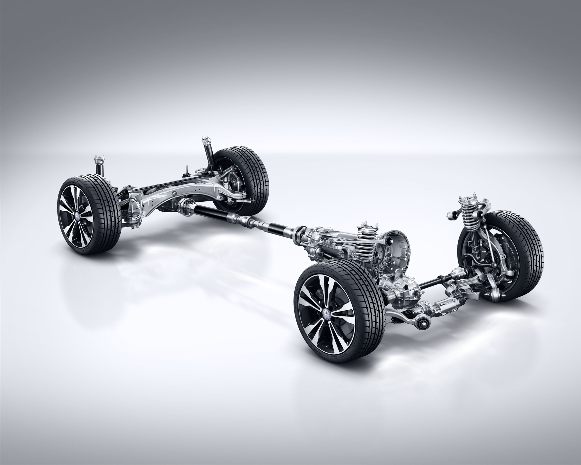 Chassis and suspension - Mercedes-Benz C-Class Estate
