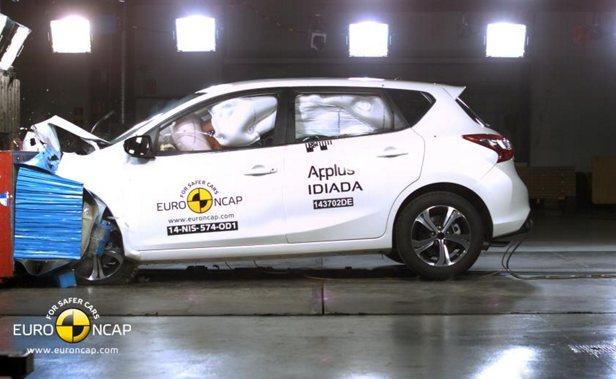 Nissan-Pulsar-crash-test