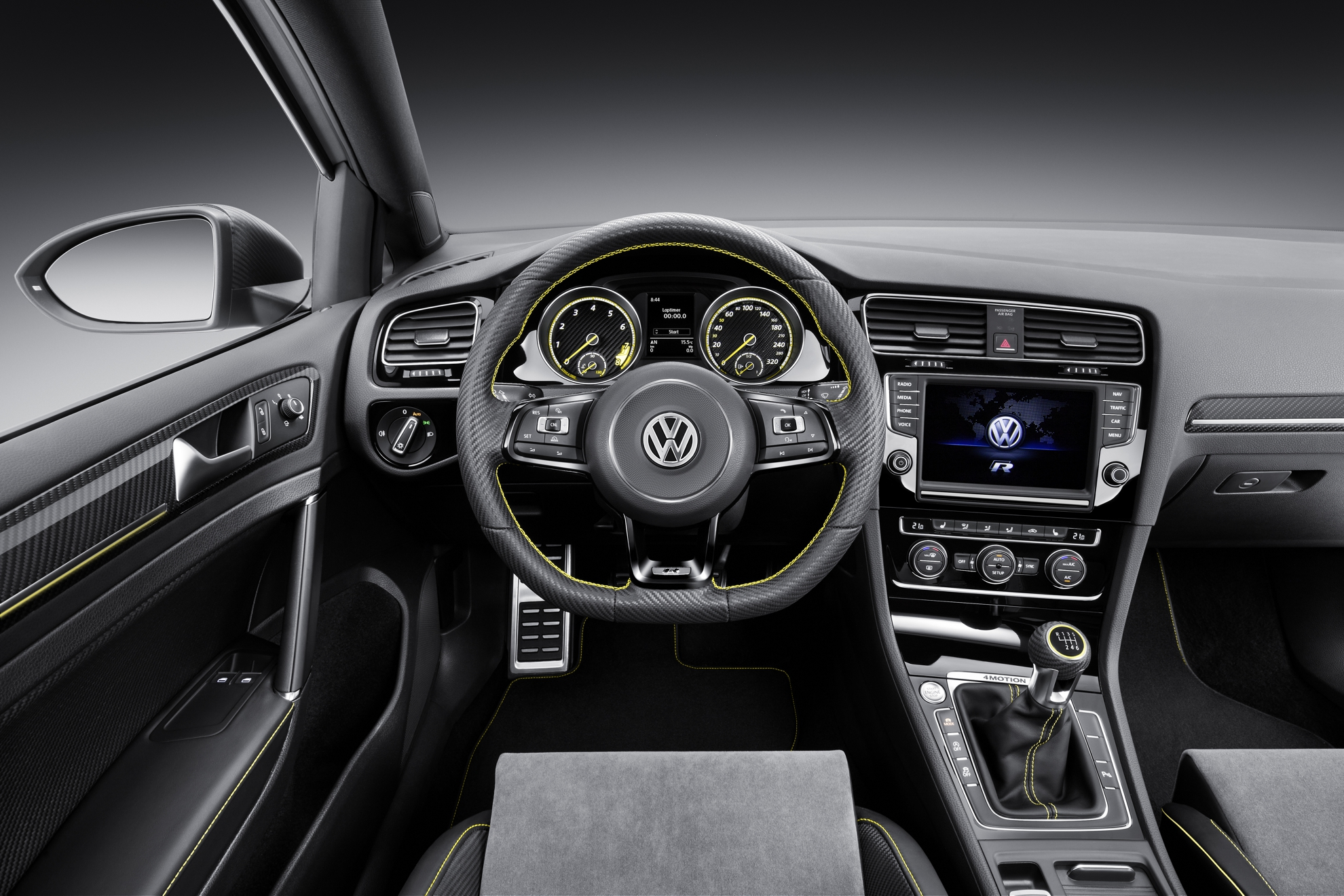 Volkswagen-Golf-Concept-Car-Interior