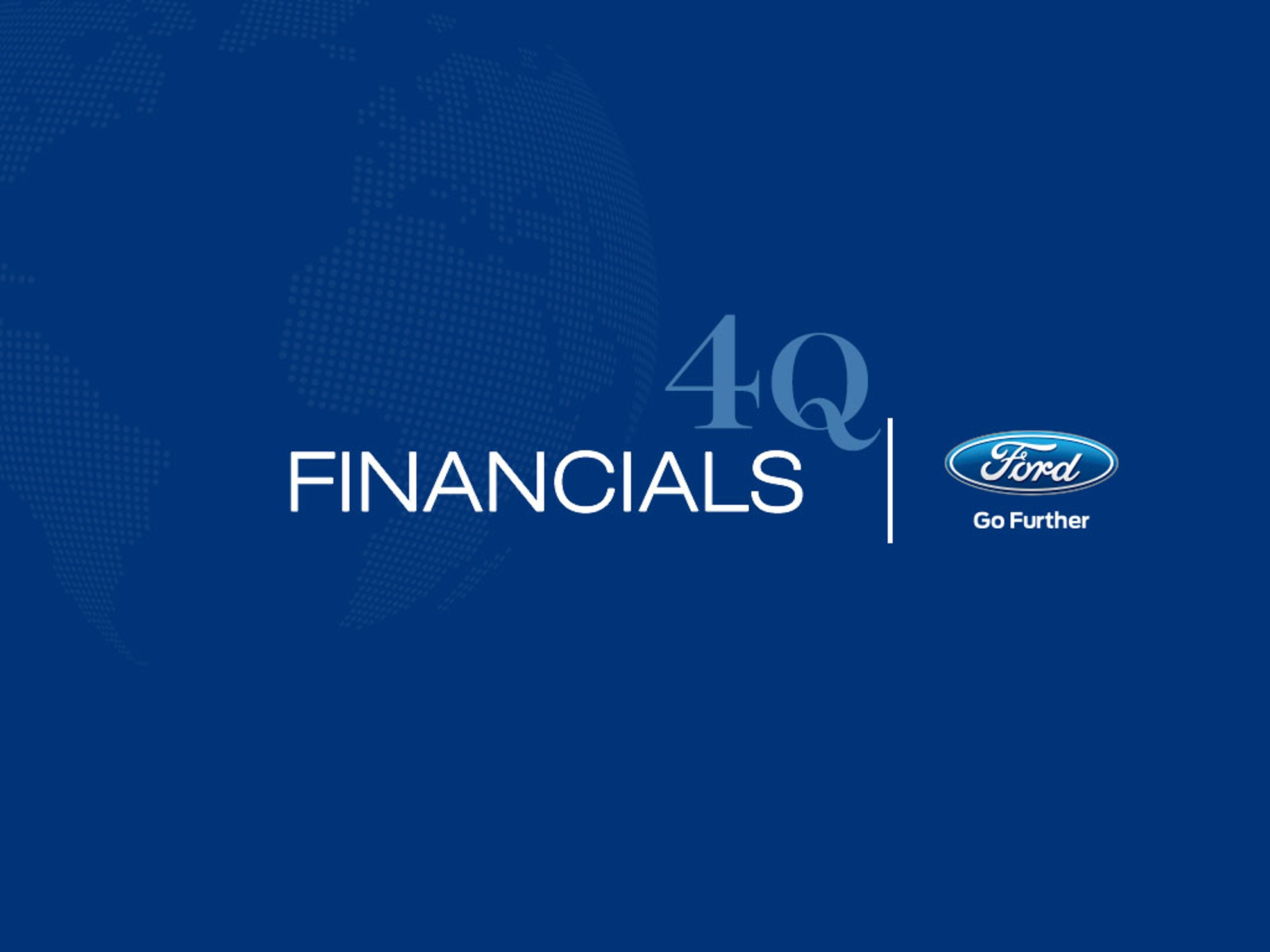 Ford-Financials