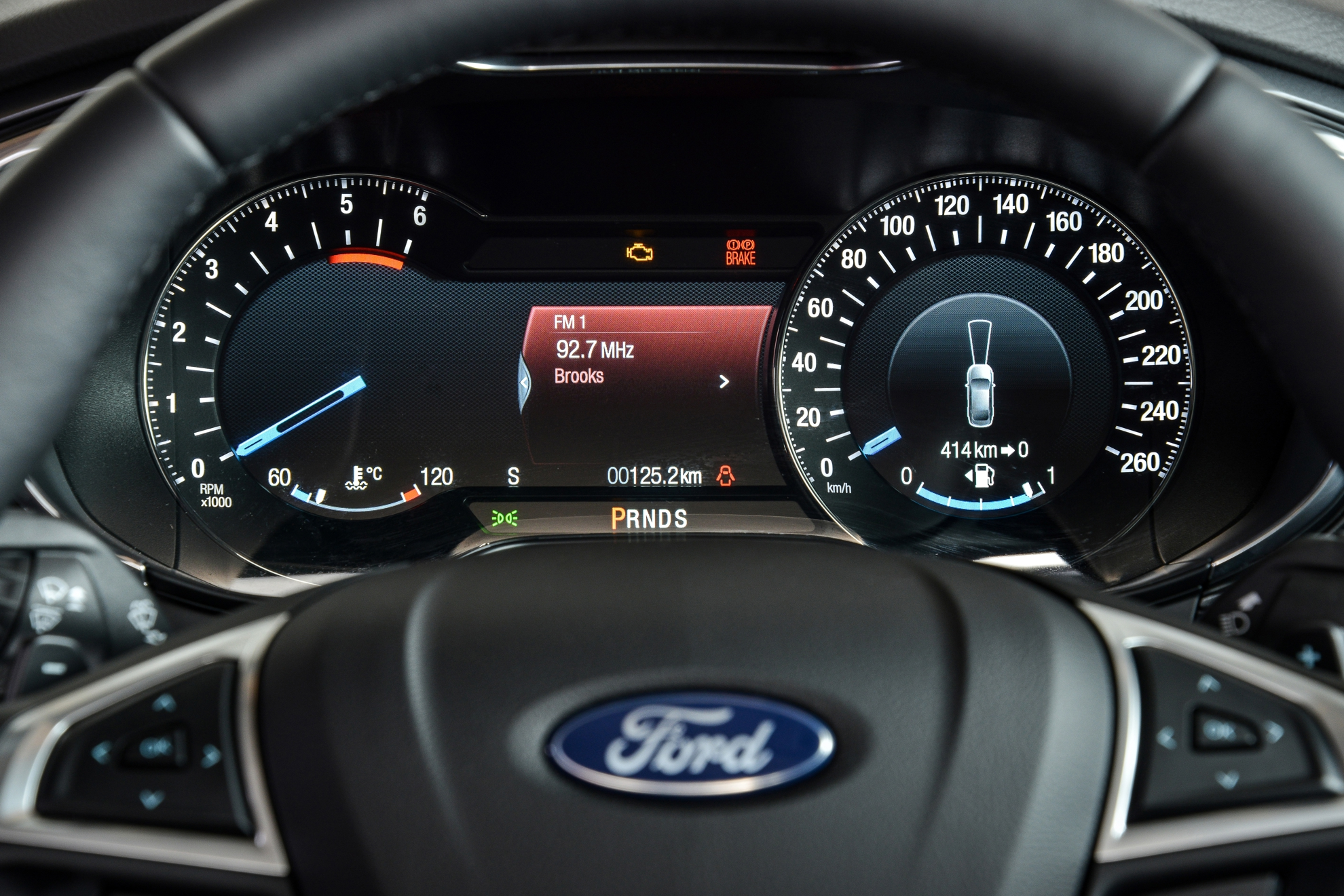 Ford-Fusion-Dashboard