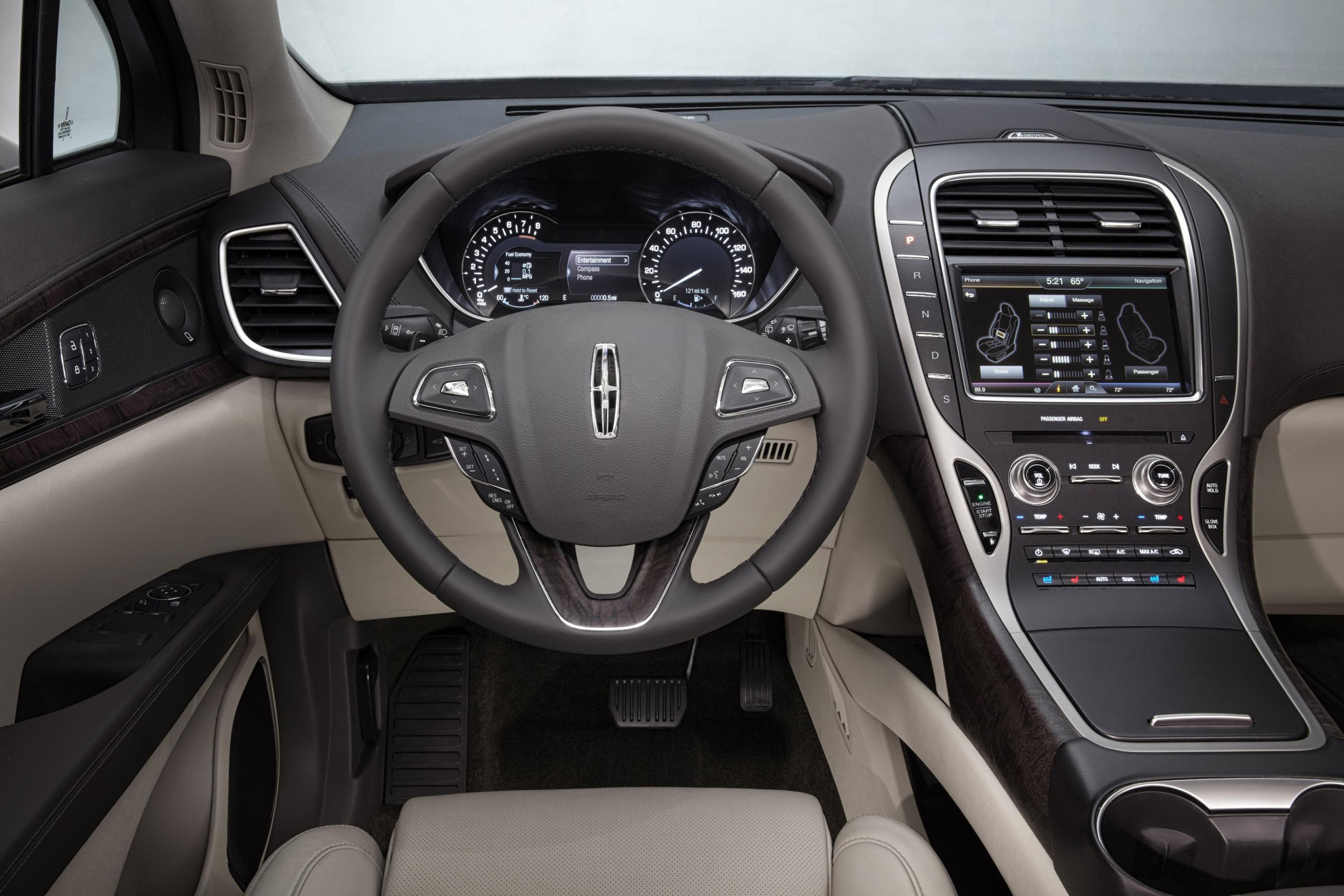 lincoln mkx debuts at detroit motor show 2015