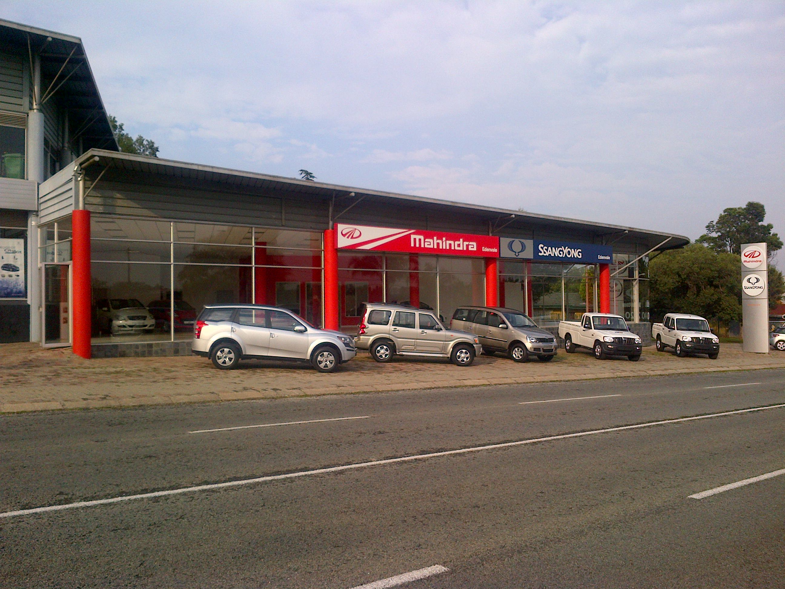 Mahindra-Edenvale-Dealership