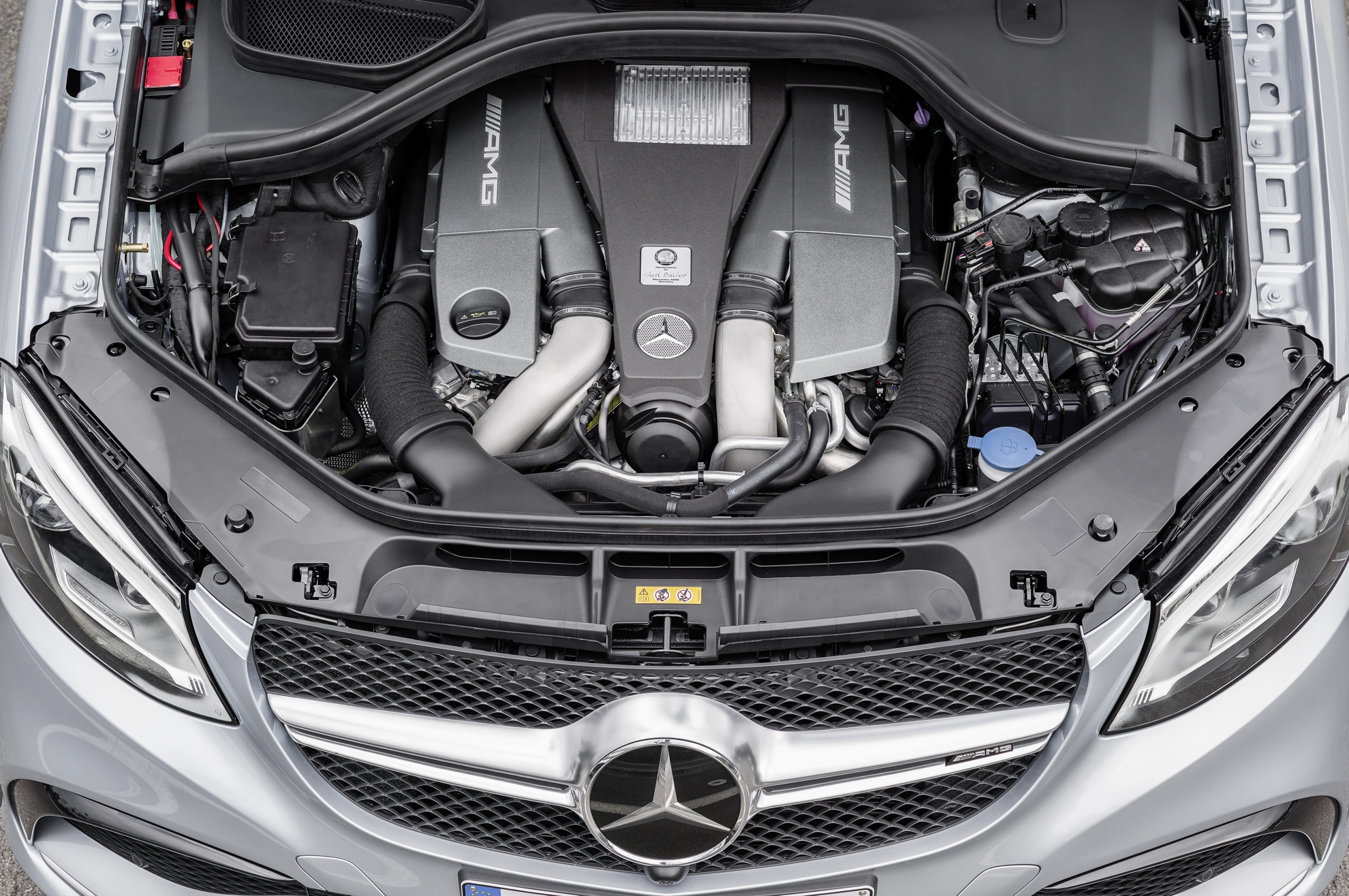 Mercedes-Benz-GLE-Engine