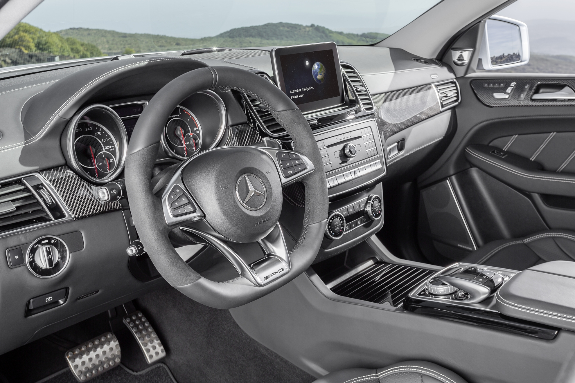 Mercedes-AMG GLE 63 Coupé 4MATIC Premiere at NAIAS 2015 in Detroit