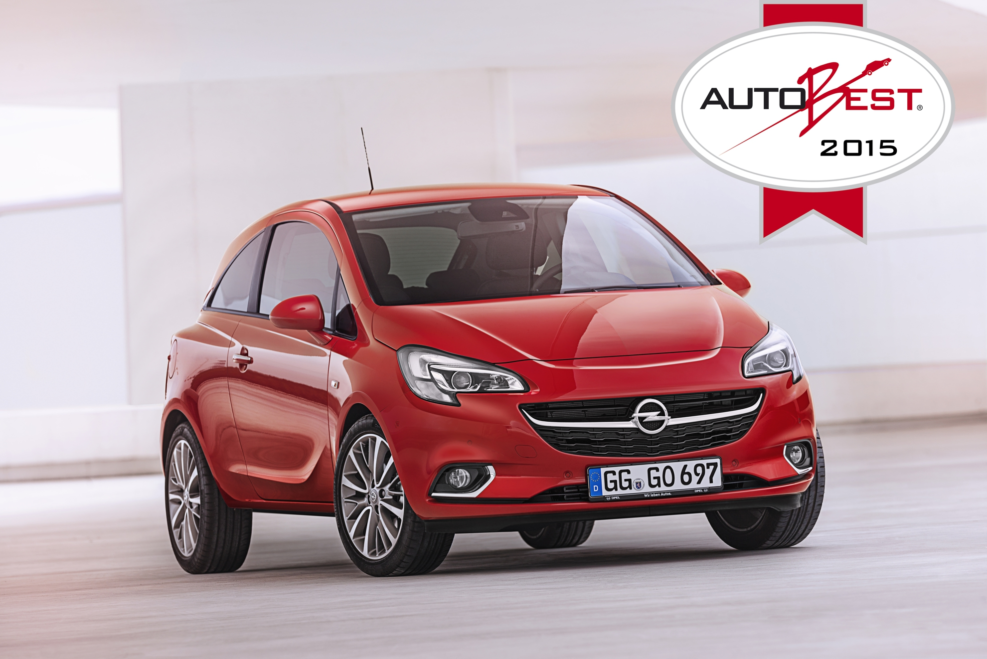 opel corsa wins prestigious autobest 2015 award. Black Bedroom Furniture Sets. Home Design Ideas