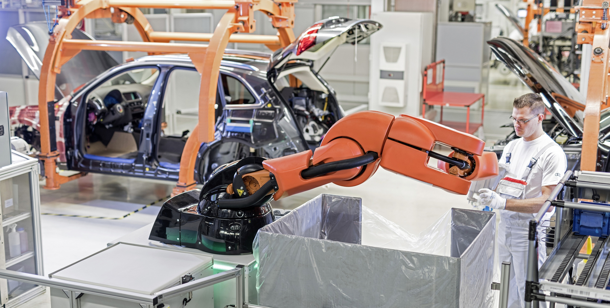 New Human Robot Cooperation In Audi S Production Processes