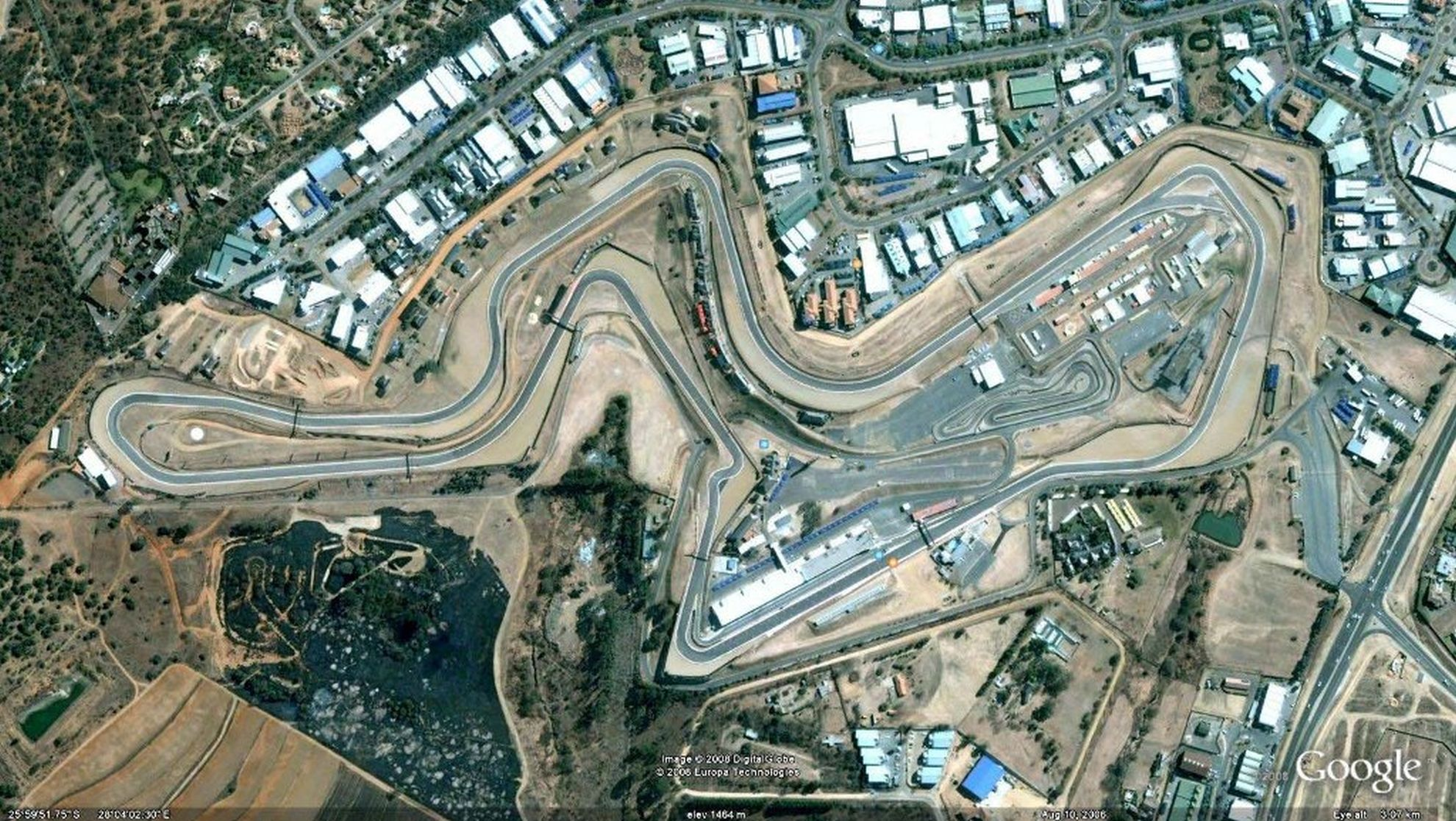 Kyalami F1 circuit South Africa
