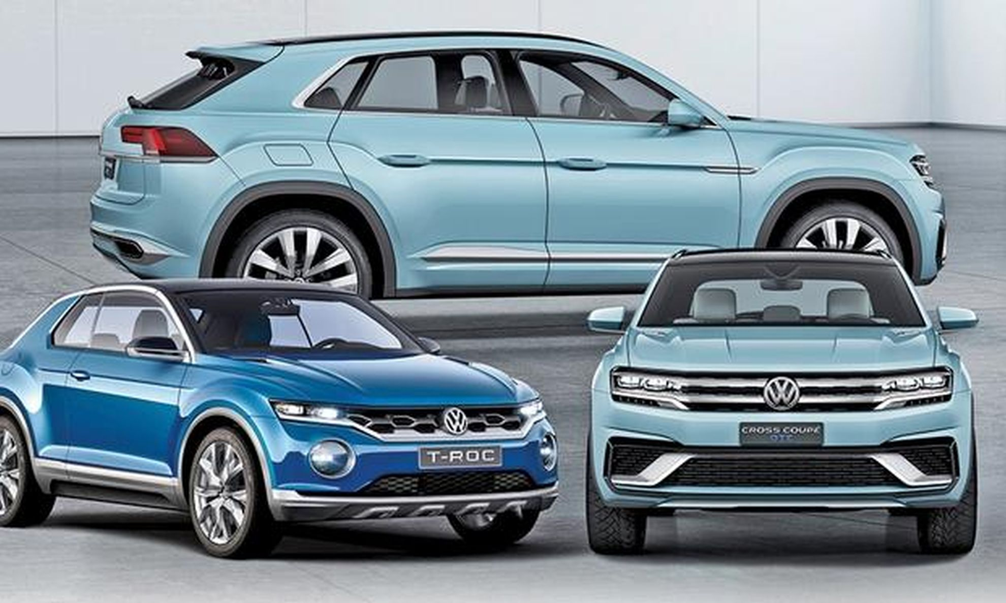 vw crossovers for us market