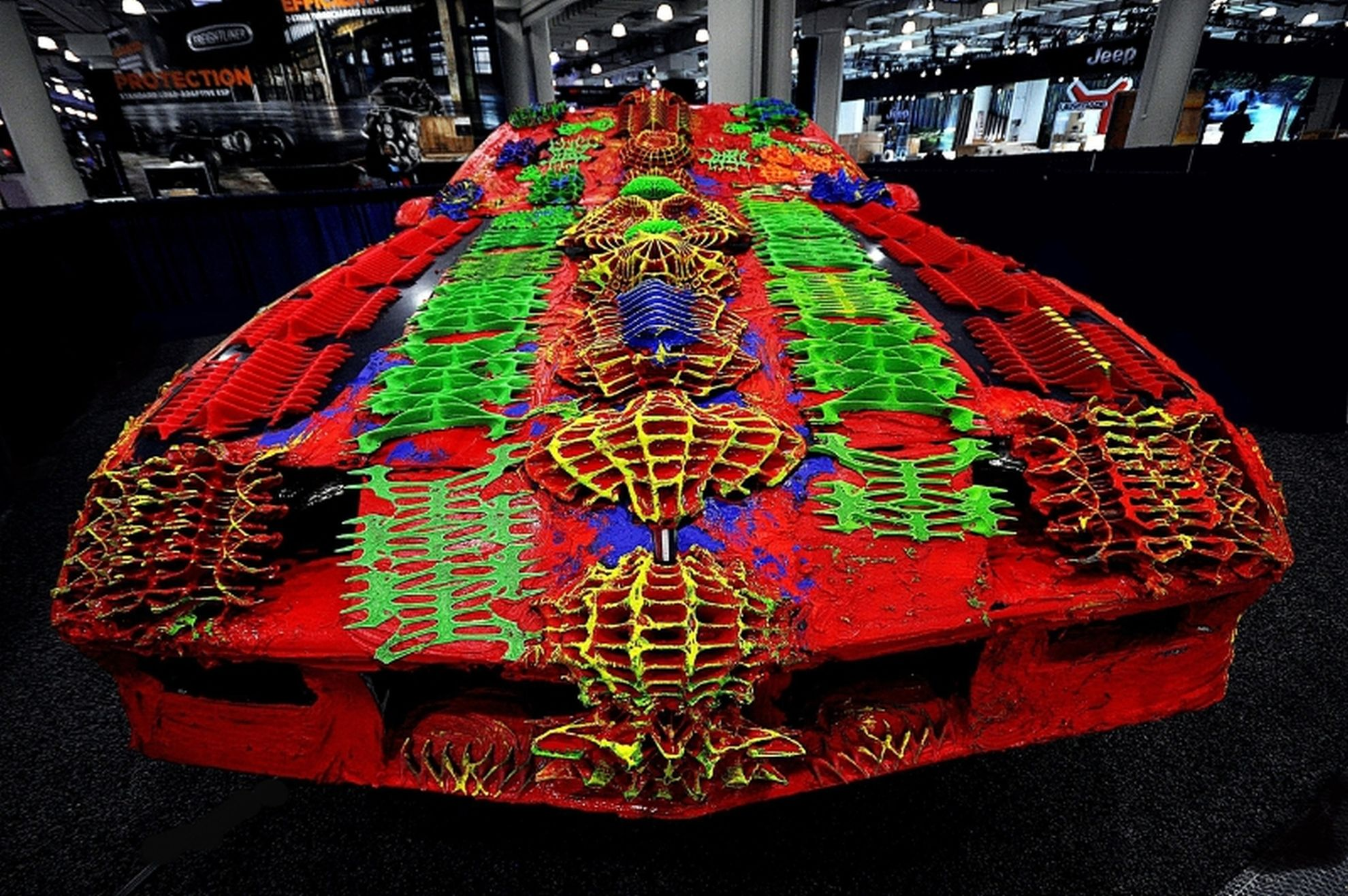 Artist-Ioan-Florea-Presents-3D-Printed-Camaro-Art-Car-at-New-York-International-Auto-Show