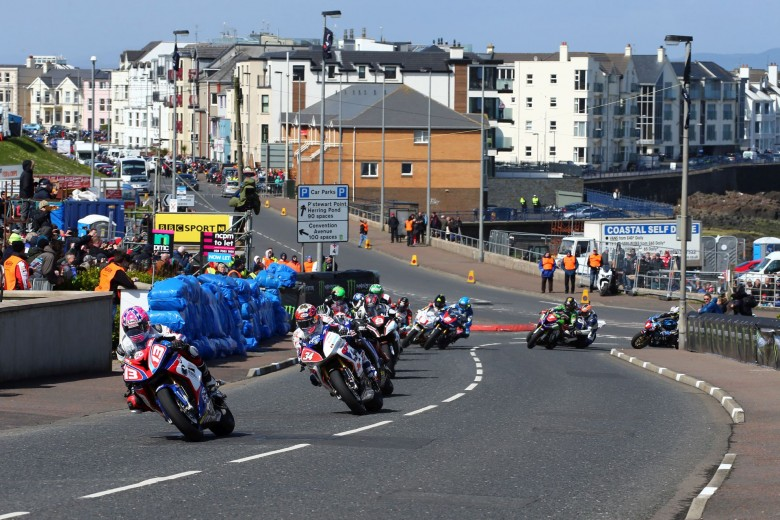 North West 200, Portrush, Coleraine, Northern Ireland. 16th May 2015Lee JOHNSTON BMW - ECC/Burdens