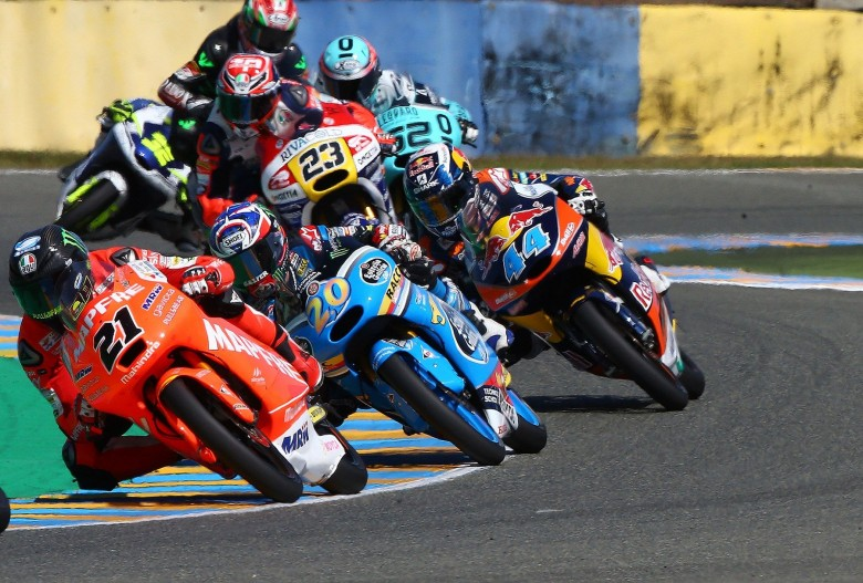 """Francesco """"Pecco"""" Bagnaia claimed a fine, fighting third place in a thrilling French Grand Prix"""