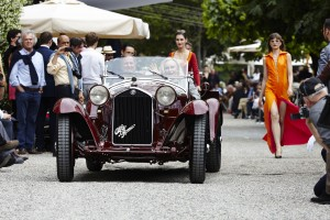 Alfa Romeo 8c 2300 Spider from 1932.