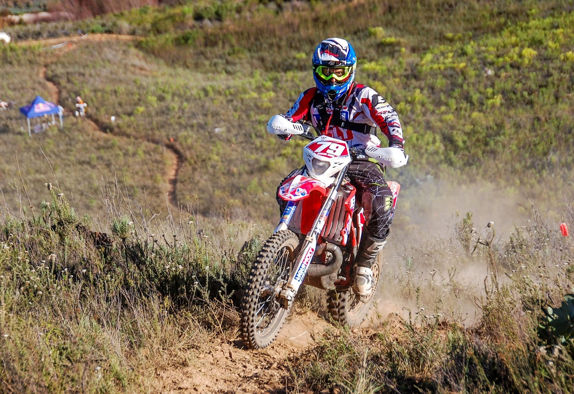 ANYTHING CAN STILL HAPPEN AT PENULTIMATE NATIONAL ENDURO AT ESTCOURT