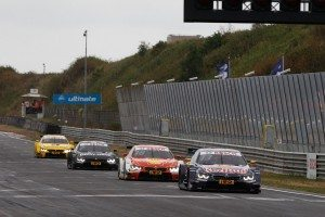 Zandvoort (NL) 12th July 2015. BMW Motorsport, Race 08, Antonio Felix da Costa (PT) Red Bull BMW M4 DTM, Augusto Farfus (BR) Shell BMW M4 DTM, Bruno Spengler (CA) BMW Bank M4 DTM and Timo Glock (DE) DEUTSCHE POST BMW M4 DTM . This image is copyright free for editorial use © BMW AG (07/2015).