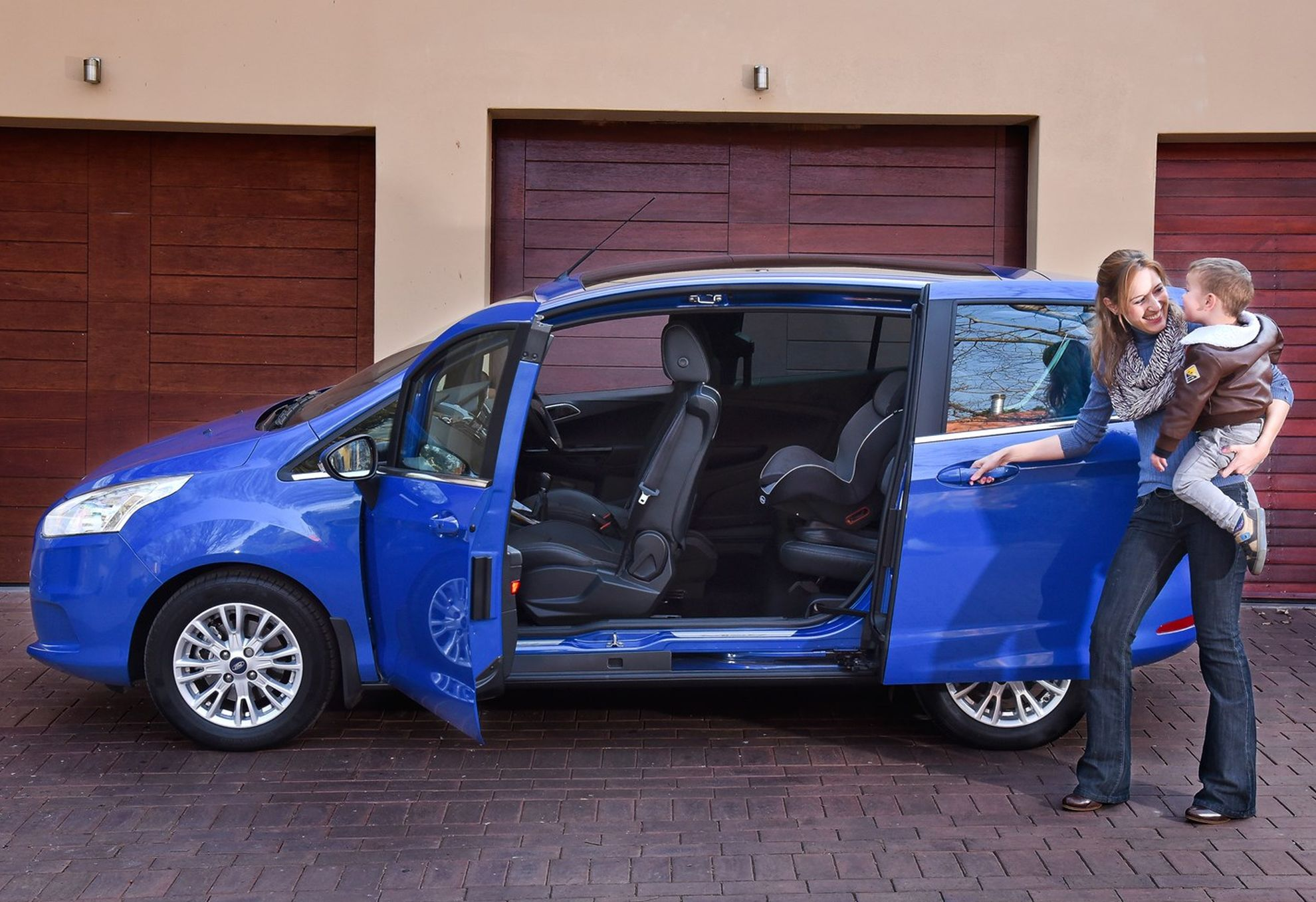 Stylish New Ford B-MAX Challenges Traditional Small Car Thinking