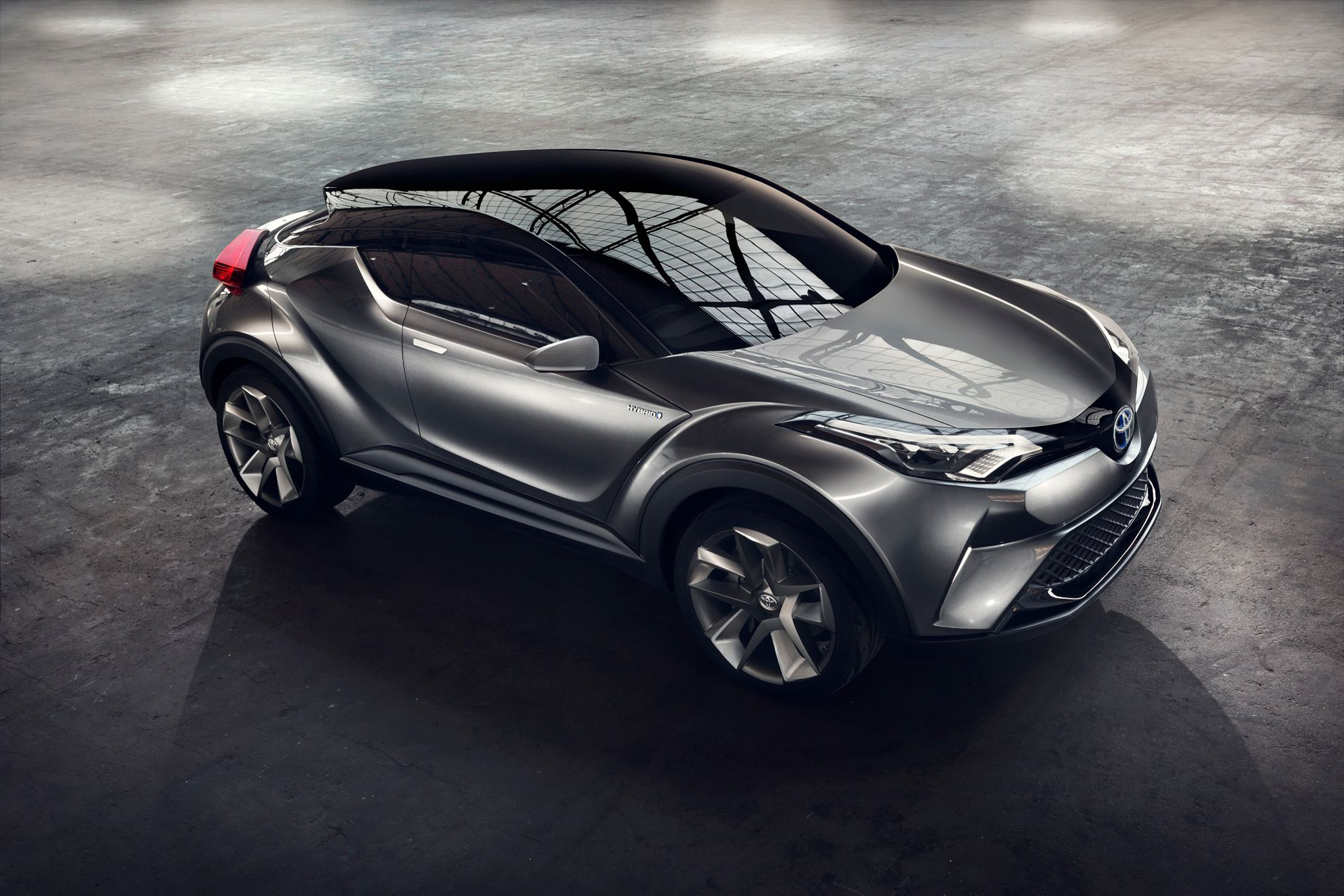 toyota c hr concept hints at new small suv. Black Bedroom Furniture Sets. Home Design Ideas