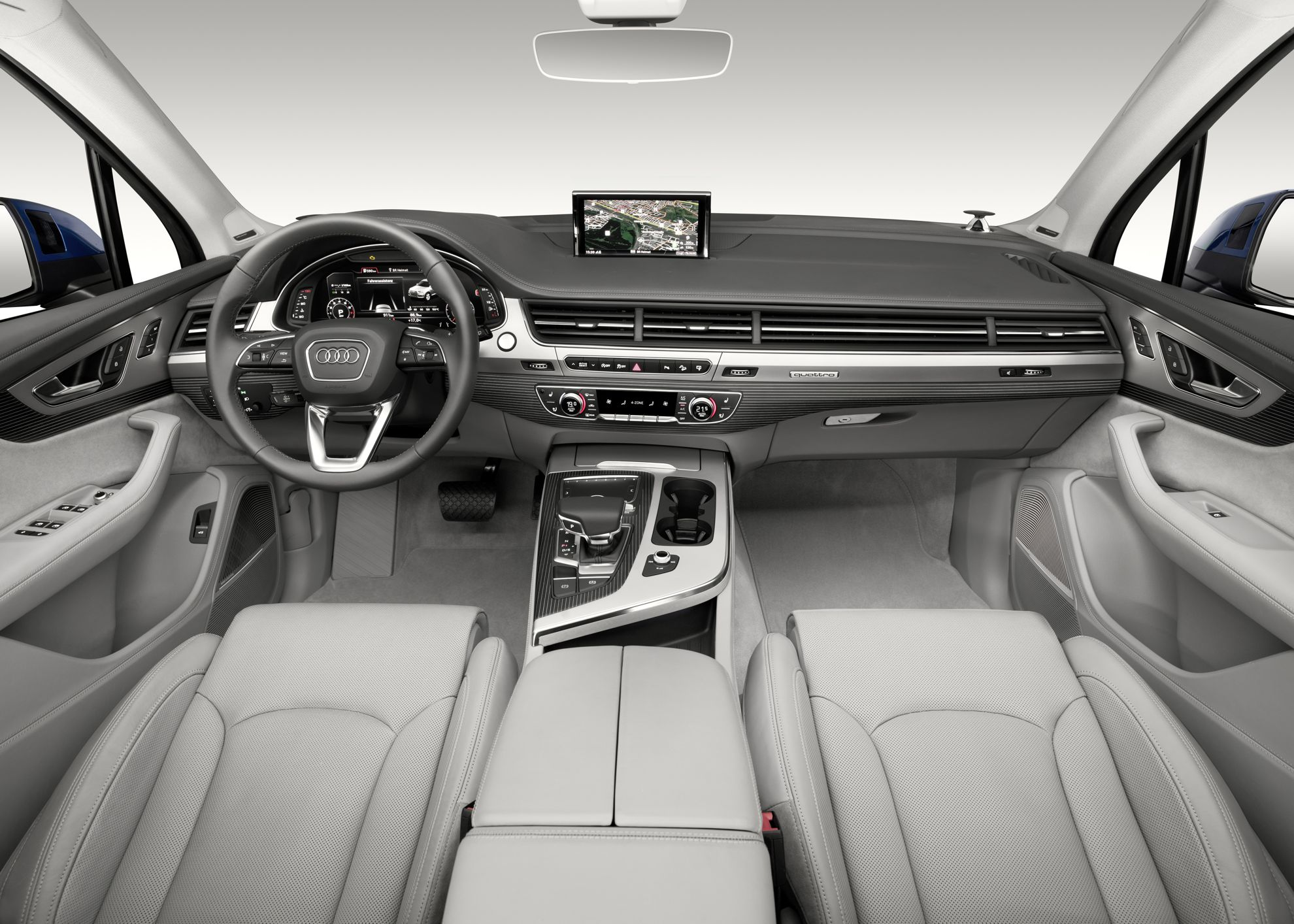 Audi Q7 Interior wins for best premium interior design