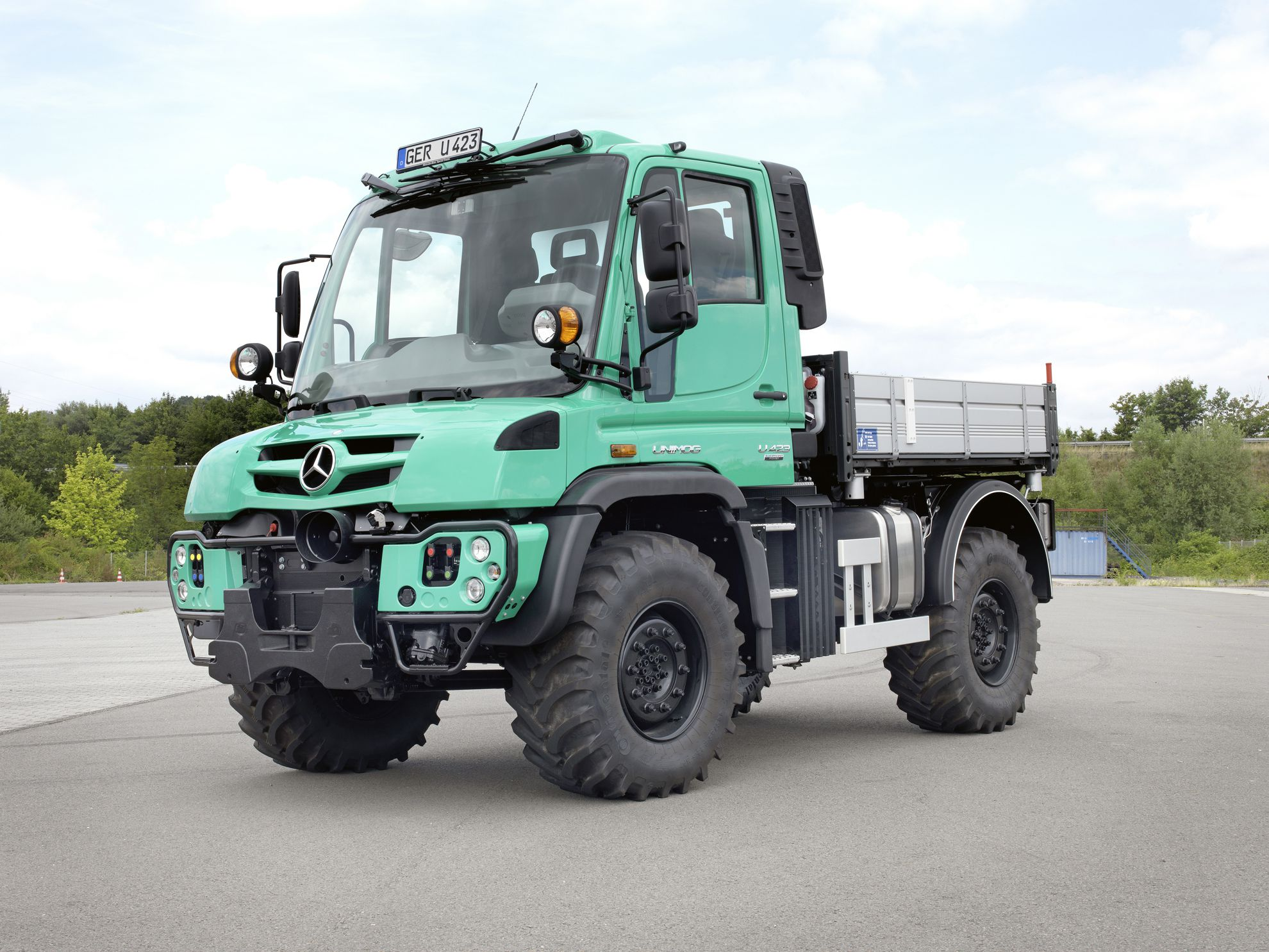 Mercedes Benz At The Agritechnica 2015 Unimog Arocs