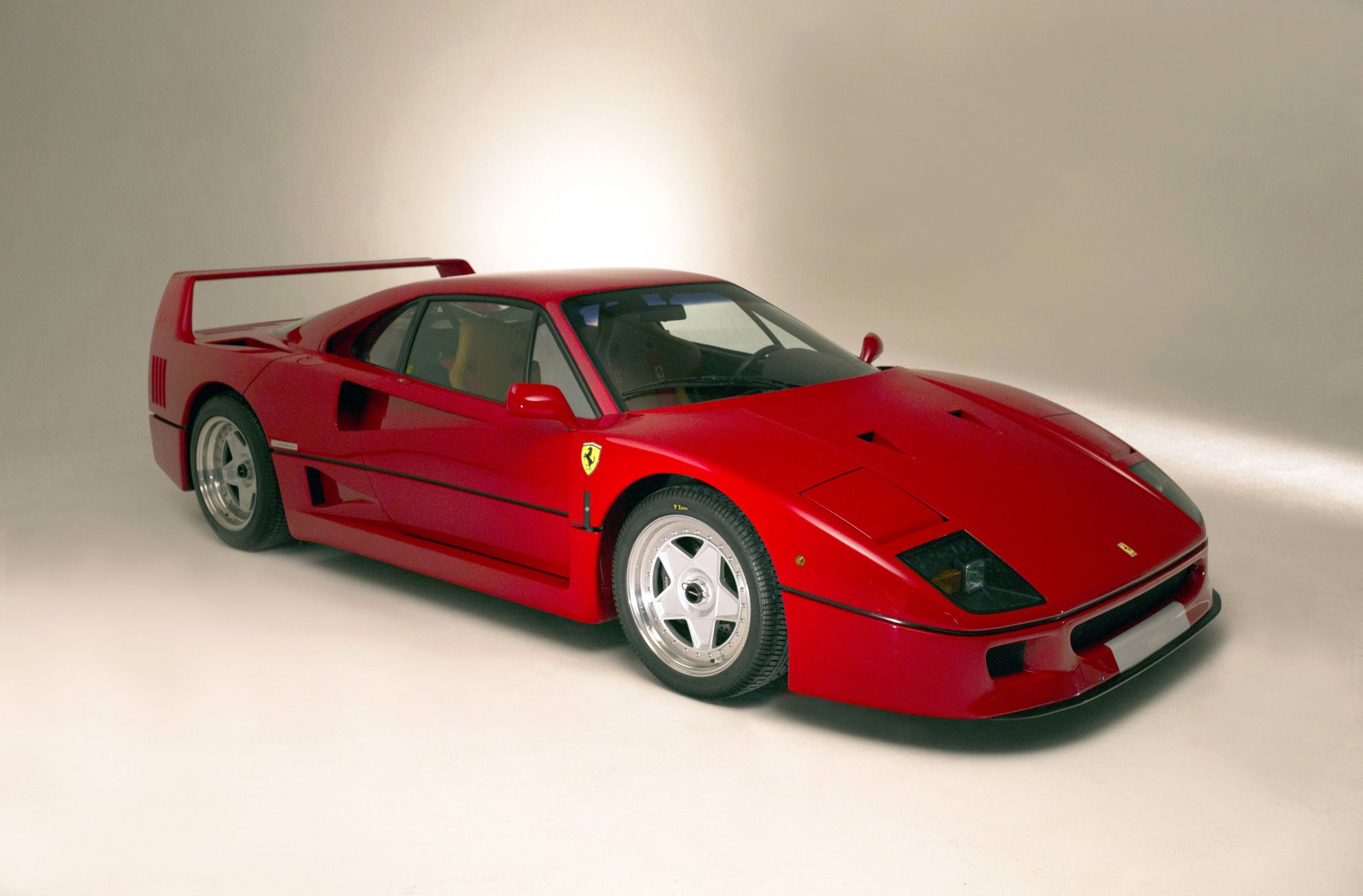 ferrari unique connolly f40 completes line up of fabulous ferraris. Black Bedroom Furniture Sets. Home Design Ideas