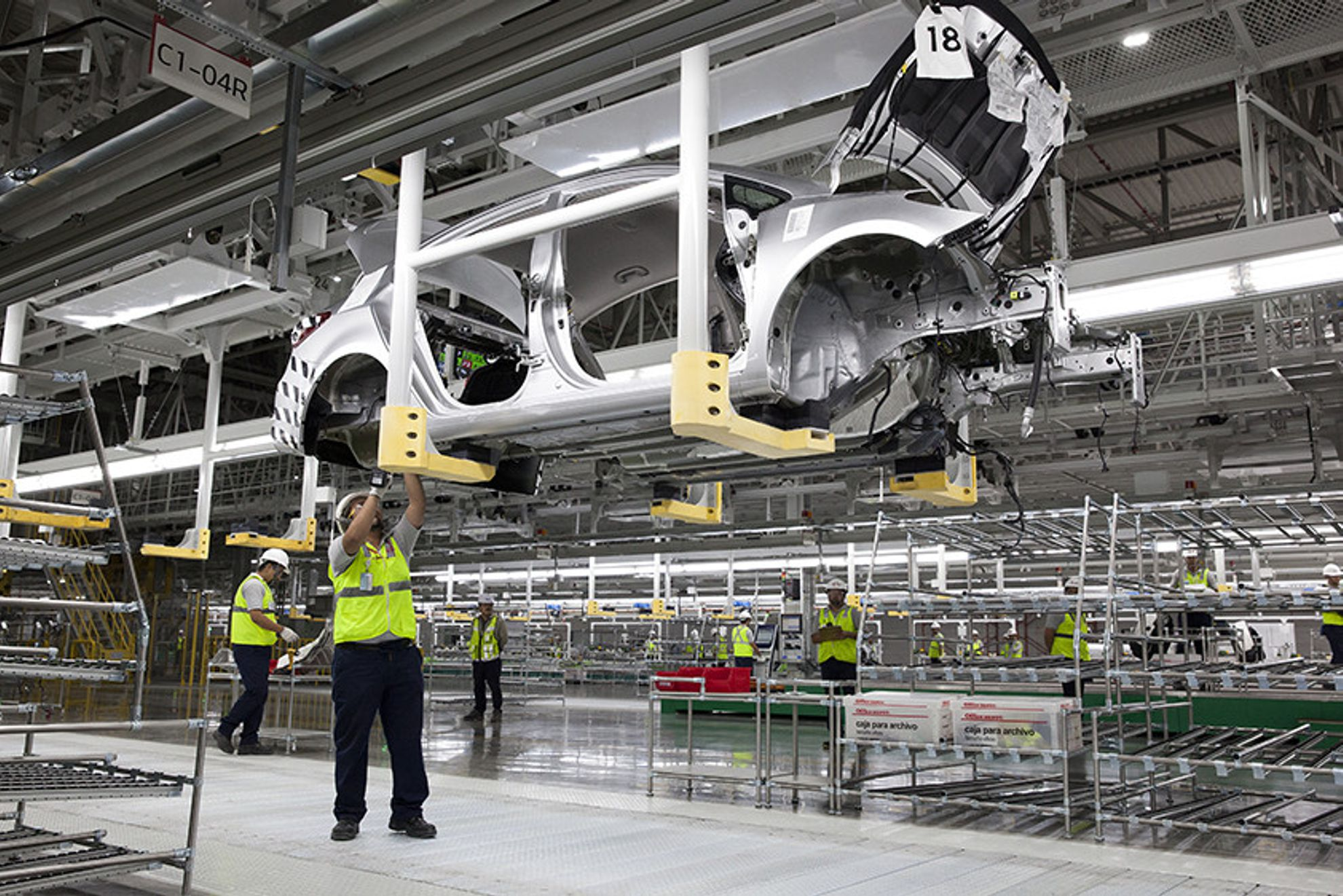 Car-manufacturing-plant-mexico