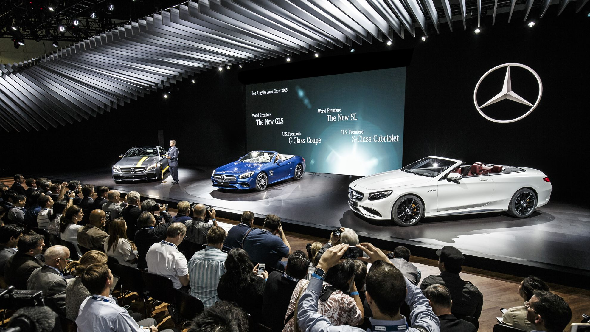 Mercedes benz los angeles auto show 2015 - Mercedes car show ...