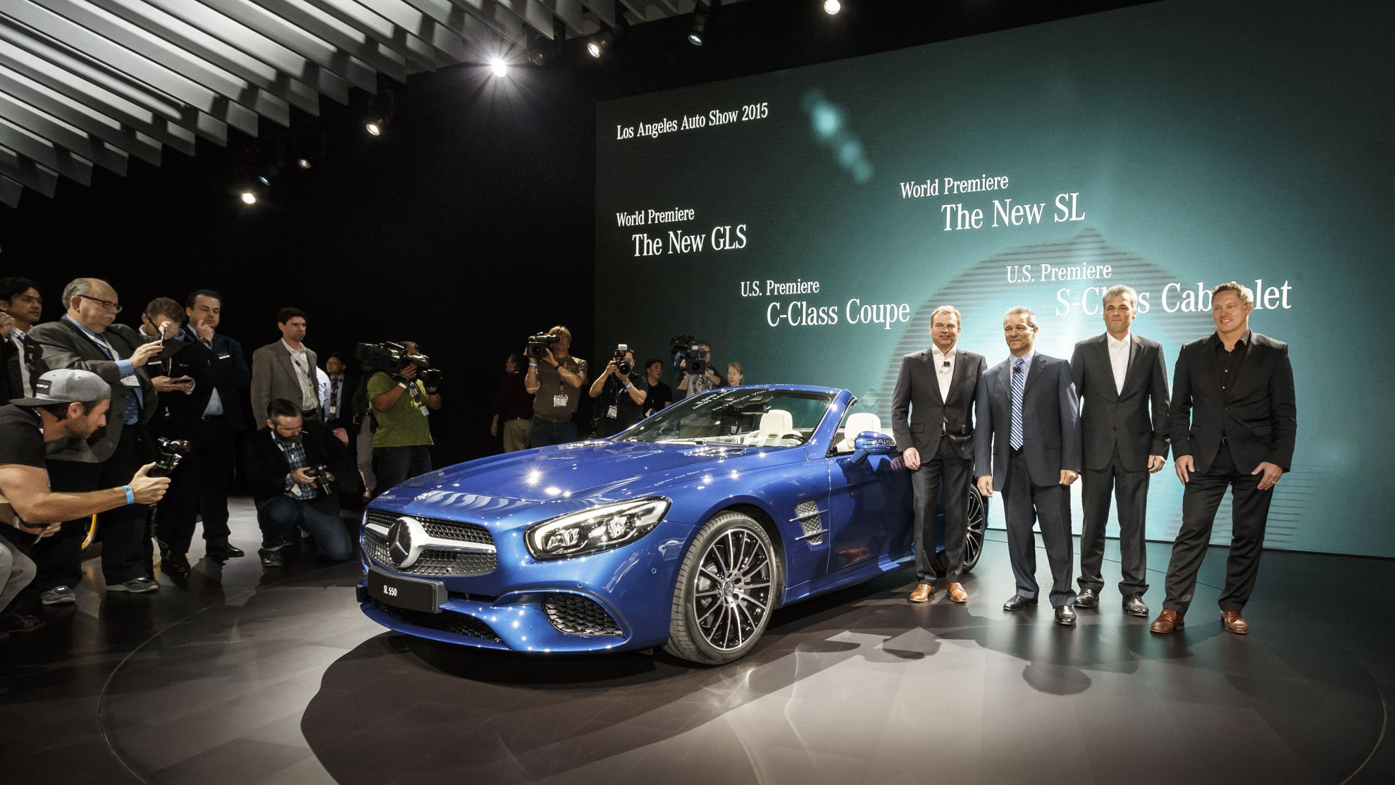 Mercedes Benz Los Angeles Auto Show 2015