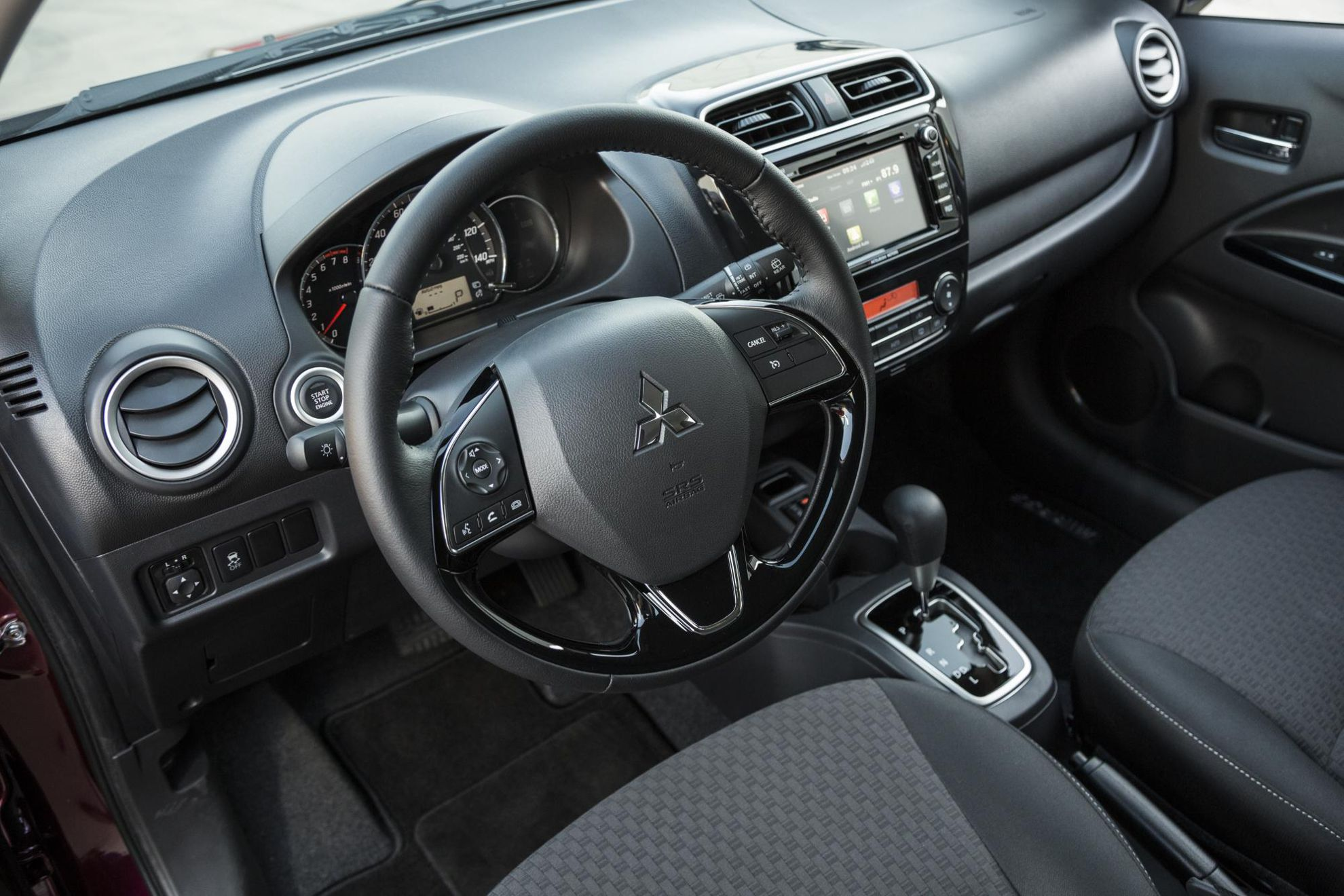 Mitsubishi Mirage Interior