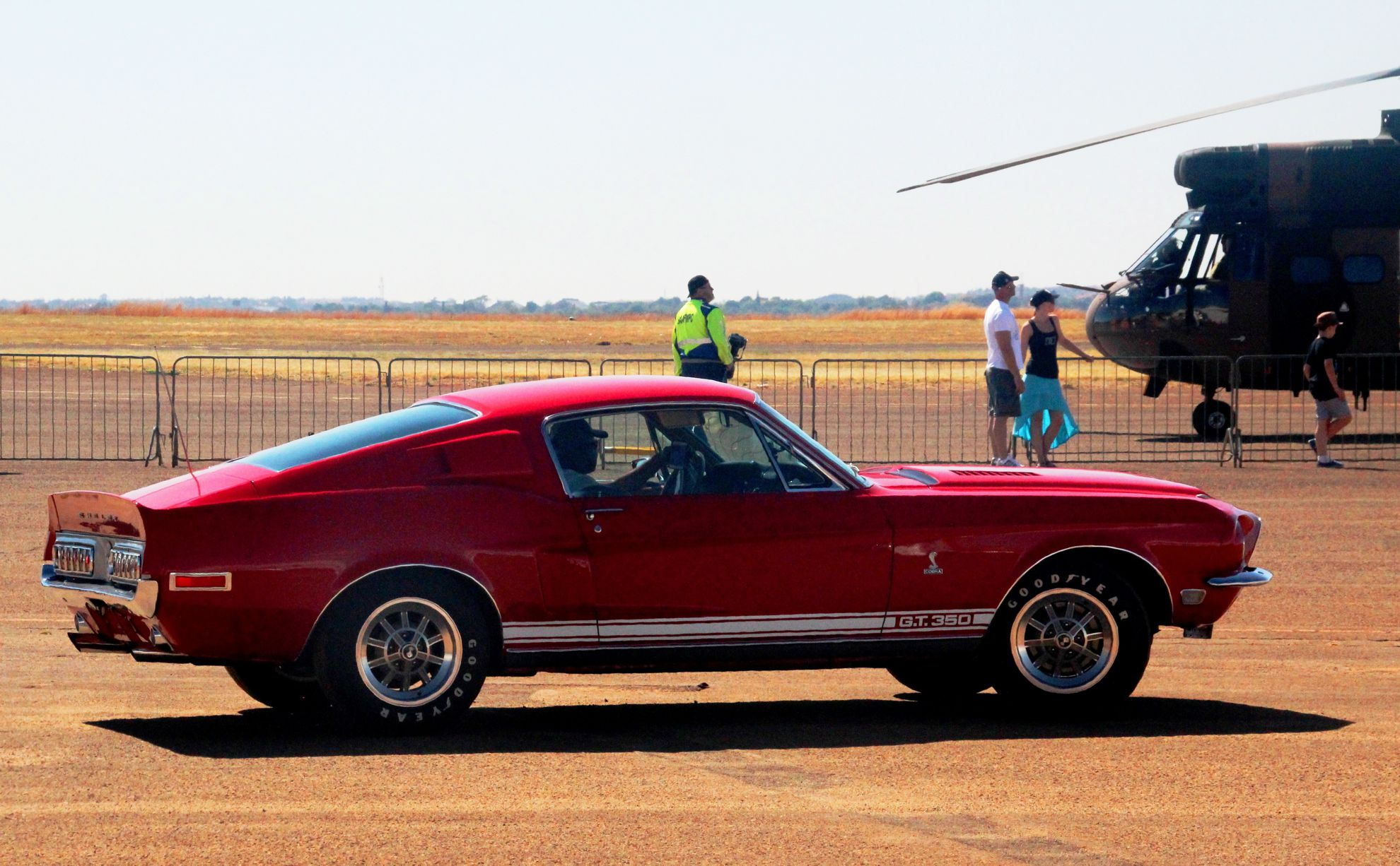 Ford Mustangs at the Nasrec Classic Car Show