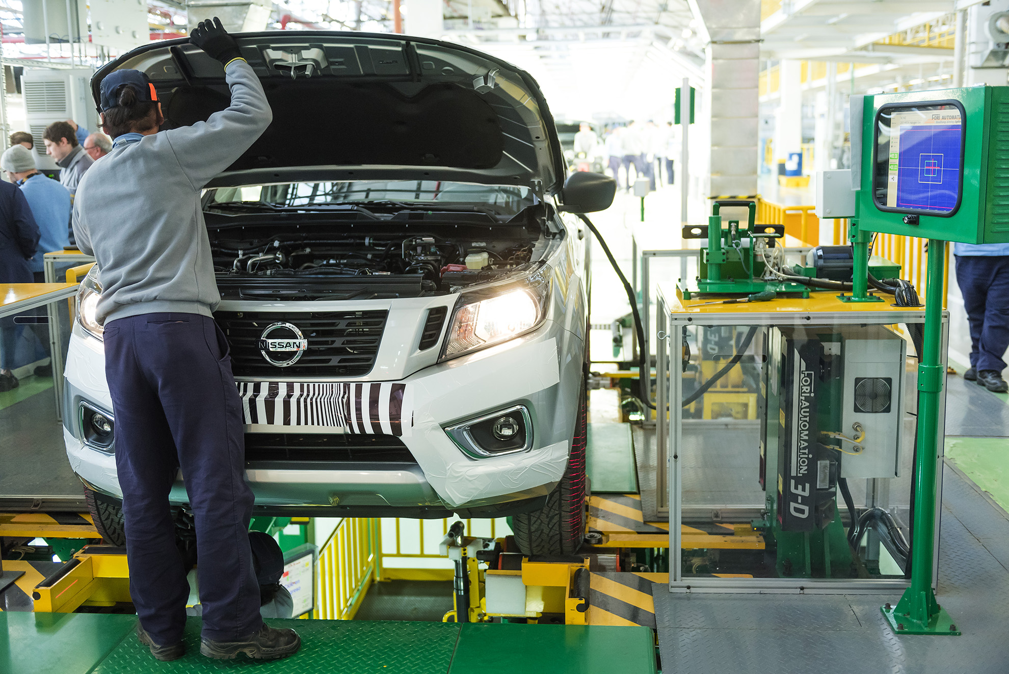 Nissan Navara production