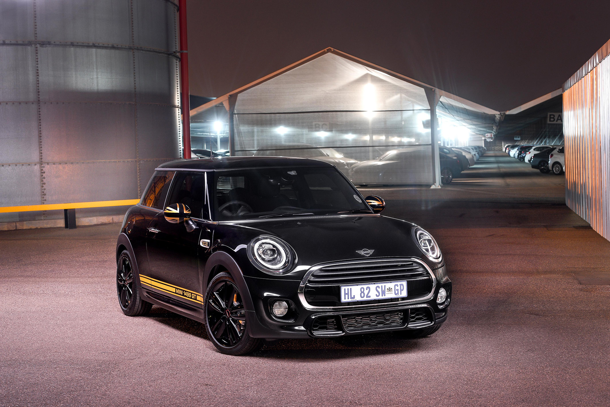 mini at the 2018 south african festival of motoring