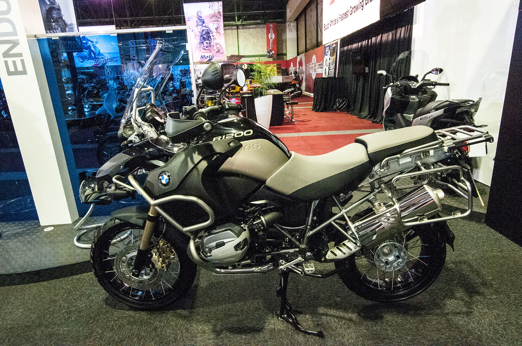 BMW at Amid Motorcycle Show