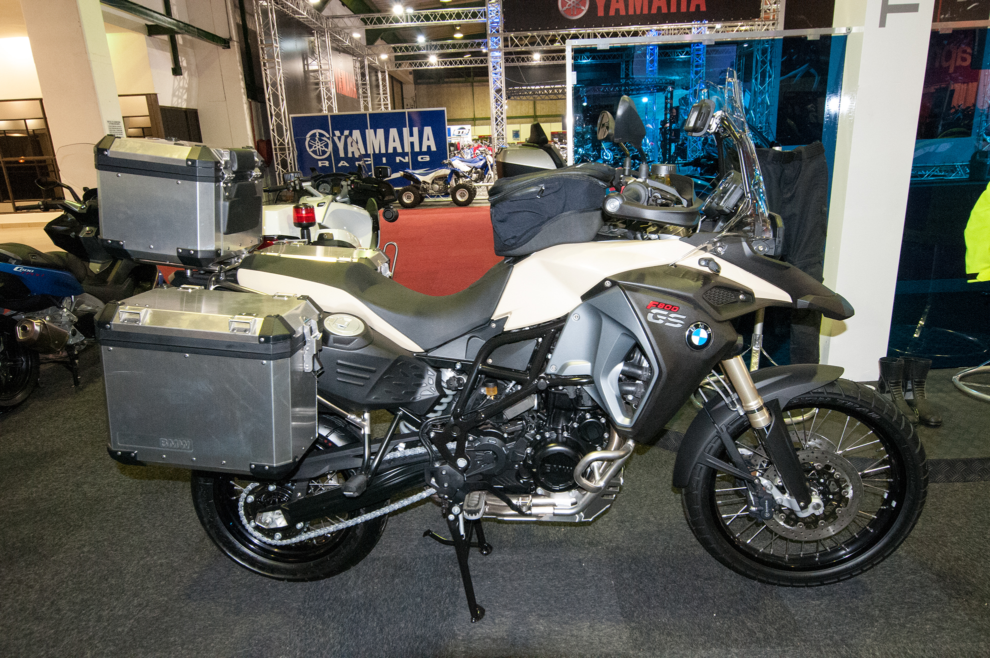 Amid Motorcycle Show