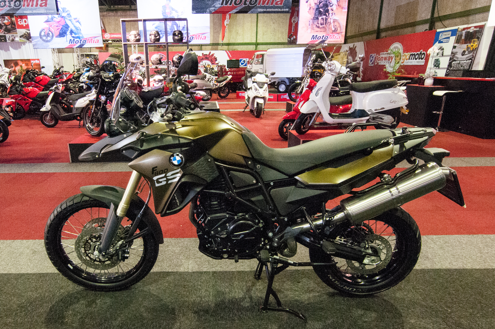 BMW Motorcycle Show