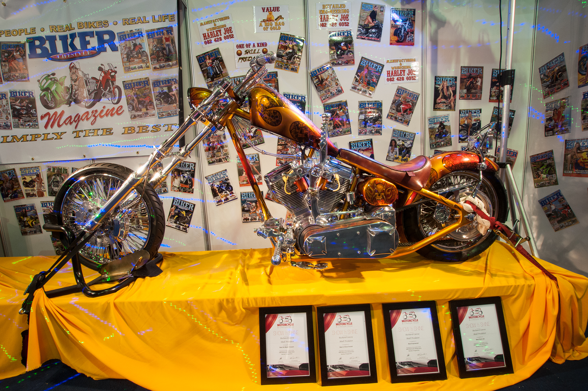 Biker Lifestyle at the Amid Motorcycle Show