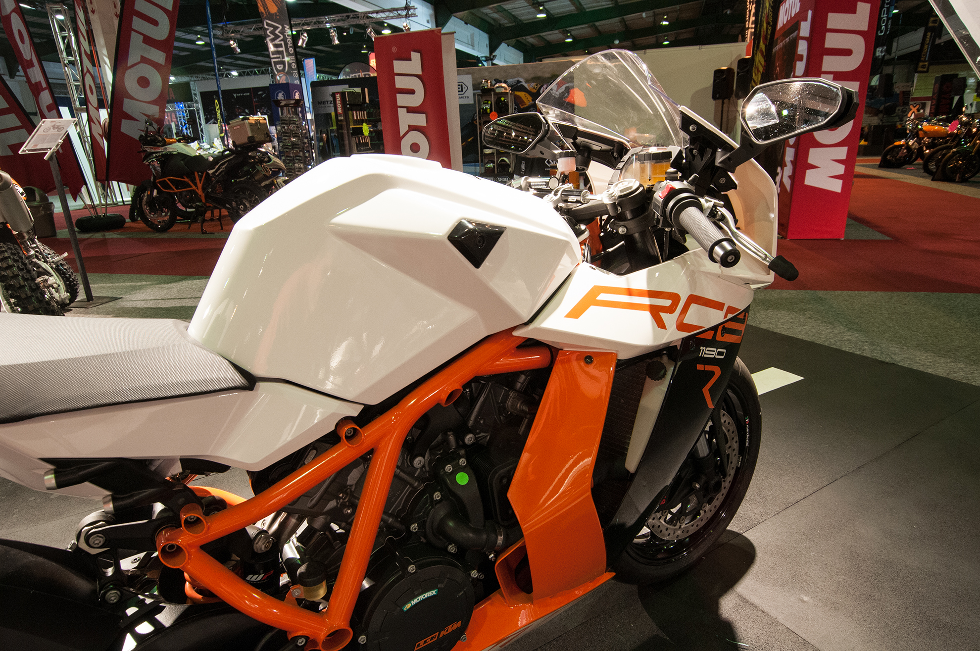 KTM Amid Motorcycle Show