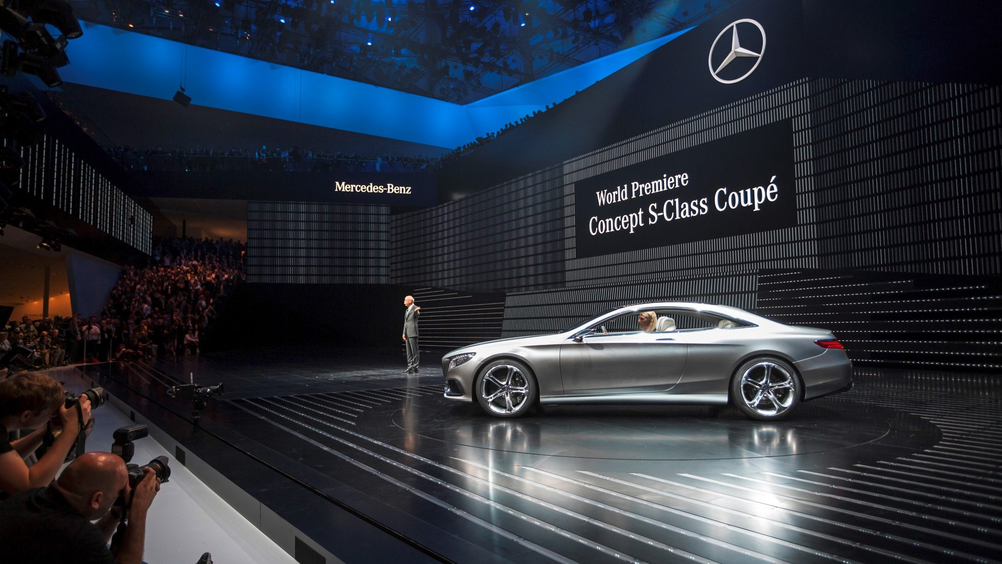 Frankfurt Motor Show Mercedes Benz Premiers New Cars - Mercedes benz car show