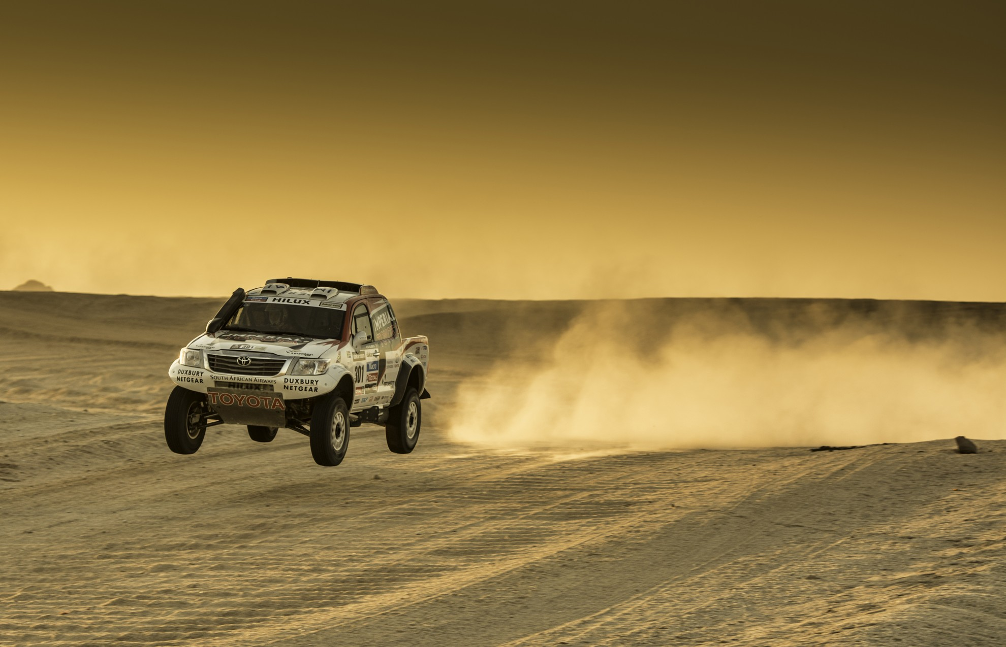Dakar 2014 Rally Preparations Toyota Hilux South Africa