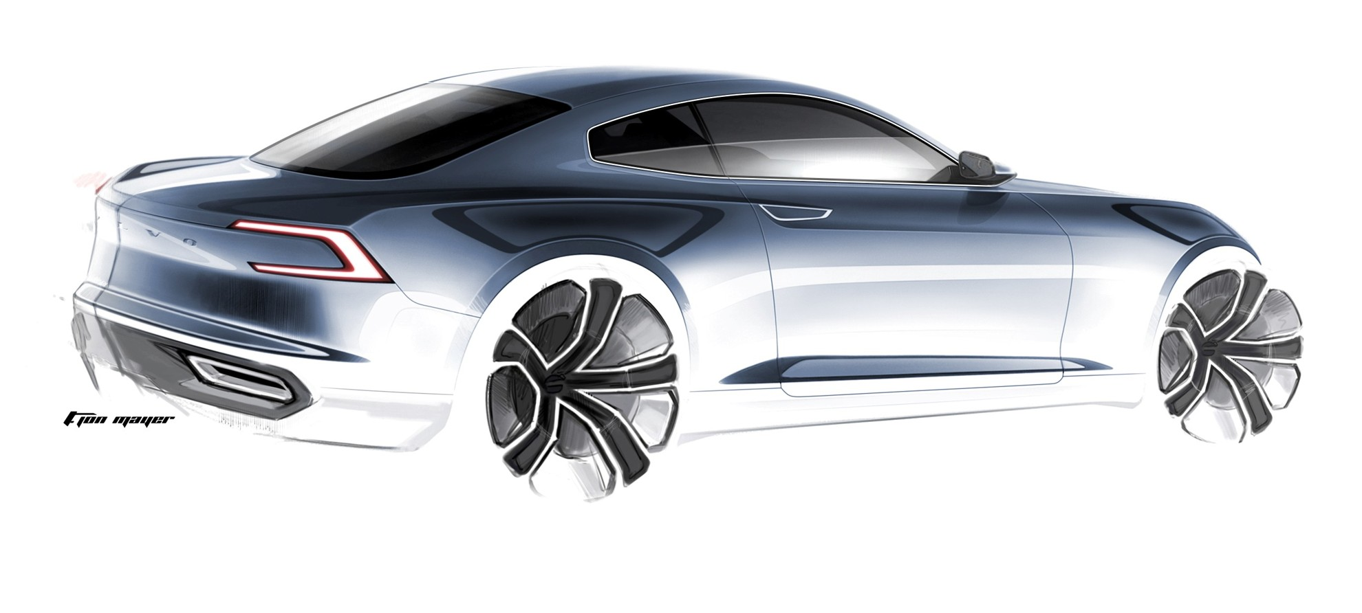 Thomas ingenlath volvo cars design for Coupe architecture